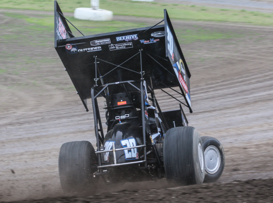 jordan adams, sprint car